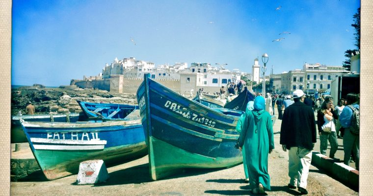 Beautifully Blue Essaouira