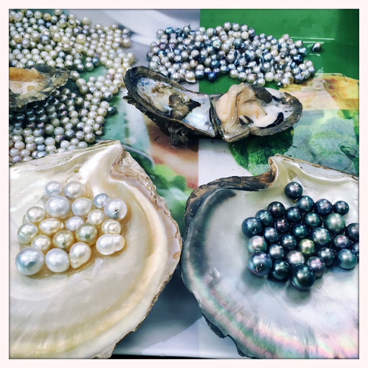 How to make pearls in three easy steps…