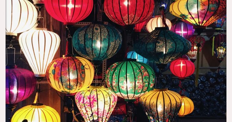 The city of lanterns
