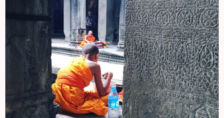 Colour at Angkor Wat