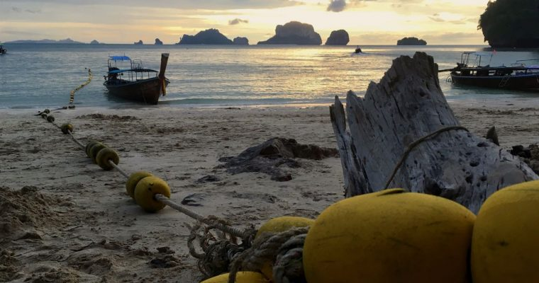 An evening at Railay Beach