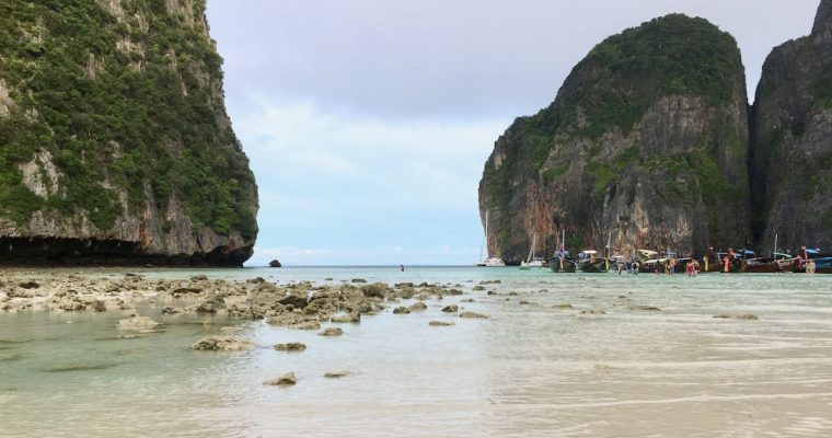 Ko Phi Phi Le otherwise known as the beach from 'The Beach'