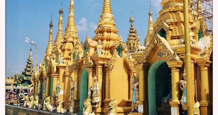 Shwedagon Pagoda Architecture
