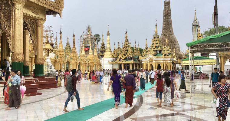 The Shwedagon Pagoda – Yangon