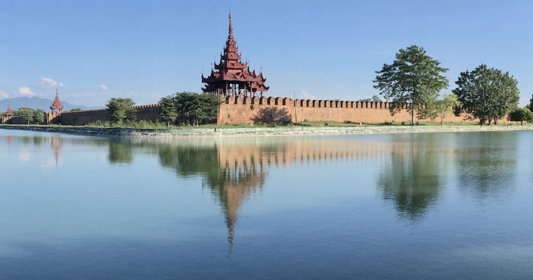Out and about in Mandalay